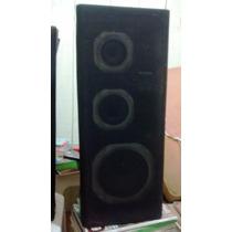 Par Caixas De Som Philips Modelo Fb201 (lp Disco Vinil 3x1)