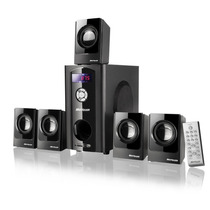 Home Theater 5.1 Multilaser 110 Watts C/ Usb Sd Card E Fm