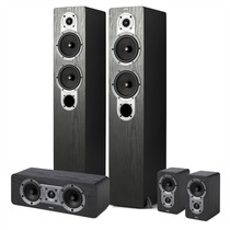 Jamo S 426 Hcs 3 - Kit Caixas Home Theater 5.0 Black Ash
