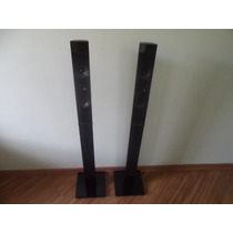 Par De Caixa Torre Home Theater Samsung Black Piano Original