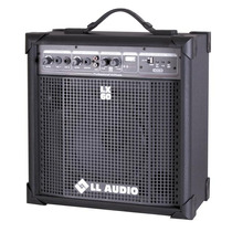 Caixa Multiuso Amplificada Lx60 Usb C/ Rádio Fm 15w Rms