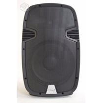 Caixa Ativa Profissional 500wts Com Bluetooth 15 Polegada