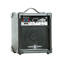 Caixa De Som Amplificada Frahm Mf 200 Bluetooth Usb 50 W