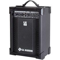 Ll Caixa De Som Multi-uso Amplificada Lx40 Com Usb