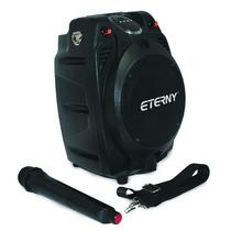 Caixa Amplificada Multi-uso Eterny 80w Rms, Microfone Grátis