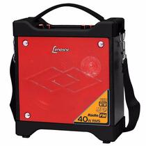 Caixa De Som Portátil Lenoxx - 40w Rms, Bateria Interna