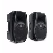Caixas Acústica Frahm Ps8 Ativa + Passiva 200rms Usb Sd Card