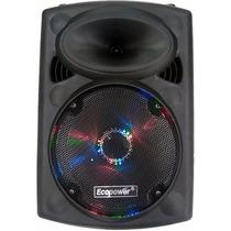 Caixa Som Amplificada 15 Ativa Bluetooth Usb Ecopower 400w