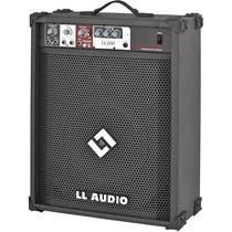 Caixa De Som Ll200 Teclado Violão Microfone Guitarra Karaoke