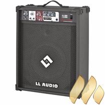 Caixa Som Mutiuso Ll200 Usb Cubo Guitarra Karaoke Microfone