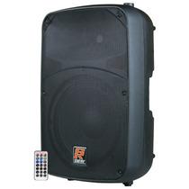 Caixa De Som Ativa Staner 15 300w Sr 315a Bluetooth Sd Usb