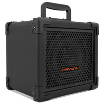 Caixa Amplificadora Com Bateria 20w Rms Usb Controle Remoto