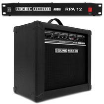Cubo Para Guitarra Sound Maker 30w + Filtro Linha Pro C/12