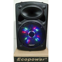 Caixa Som Amplificada 15 Pol 400w Ecopower Ep-1903 Bluetooth