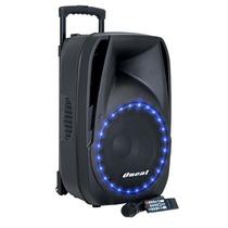 Caixa Acústica Ativa Oneal Omf430 C/ Bateria E Microfone
