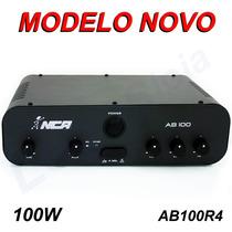 Amplificador Nca Som Musica Ambiente 100w Ab 100r4 *promoção