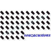 50 Capacitores Eletrolítico 47 X 100 Volts Polarizado