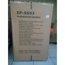 Ecopower Ep-s603 550wrms Digital Amp. Bateria Interna