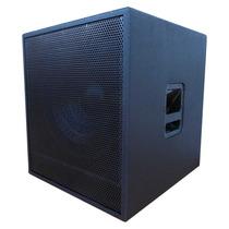 Caixa Sub 15 Ativa Nhl 2.5k 1200w Rms Crossover Limiter