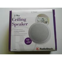 Caixa Acústica Autofalante De Teto - Radioshack