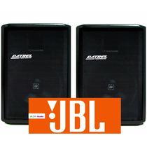 Kit Caixa De Som Ativa Jbl + Passiva 500w Rms Datrel Oferta