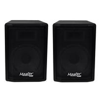 Kit Caixa Ativa + Passiva Master Audio Falante 10 320watts