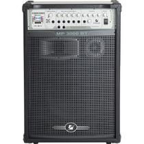 Caixa De Som Amplificada Franhm Mp3000 300 W De Potencia