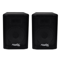 Kit Caixa Ativa + Passiva Master Audio Falante Jbl 12 400w