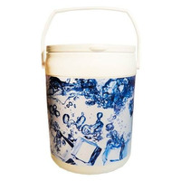 Cooler Caixa Térmica 10 Latas Cerveja Refri Alça Ice Gelo!