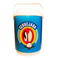 Cooler Caixa Térmica 16 Latas Cerveja Refri Alça Antarctica!