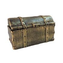 Porta Jóia Baú - Arca Do Tesouro De Resina