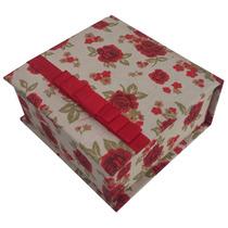 Caixa Em Cartonagem Com 4 Divisórias Para Doces E Presentes