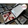 Caixa Convite Box - Kit Luxo Padrinho De Casamento, 15 Anos
