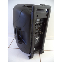 Caixa De Som Ativa 400watts Rms. Ep-s302 Bat.recarregável