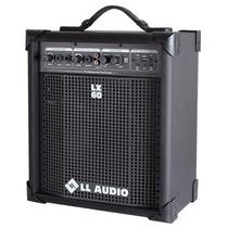 Caixa De Som Amplificada Multi Uso Ll Lx60 Usb 12x