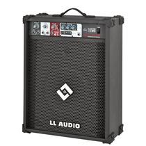 Caixa De Som Amplificada Ll200 Com Rádio Fm E Usb - 50w