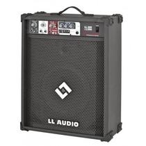Caixa De Som Amplificada Microfone Guitarra Usb Ll200 - 50w