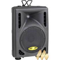Caixa De Som Ativa Donner Cl100d Fm Rádio Classe D 100w Nfe