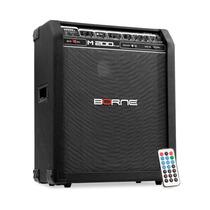 Caixa Multiuso Borne M200 Plus 120w - Voz Violao Baixo Guita