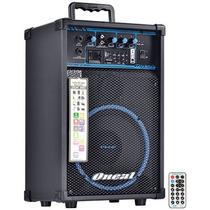 Caixa Amplificada 50w Rms Ocm290 Usb Sd Fm Box Line Oneal