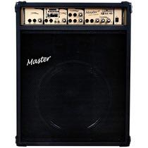 Caixa Multiuso Ativa Master 125w Rms 15 Pol C/usb Fm Mu600