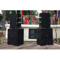 Caixa Acústica Line Array W212l Wega Audio