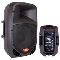 Caixa De Som Bluetooth Amplificada Ativa 10 Usb Pc 120w