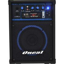 Caixa De Som Amplificada Multiuso Oneal Ocm 190 Usb Fm
