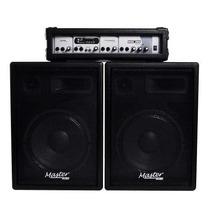 Ritmus ! Master Audio Sck-360 Kit De Sonorização Aparelhagem