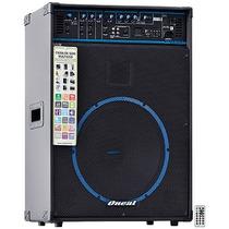 Caixa Amplificada Box Line Ocm1090 Usb Sd Fm 150w Rms Oneal