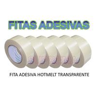 Fita Adesiva Hotmelt P/ Caixa De Papelão - 6 Rolos 48x100m