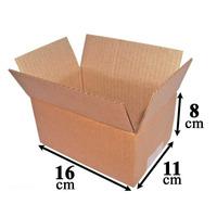 Caixa Papelão Correio Sedex Pac Tam. 16x11x8 Com 50 Unidades