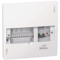 Quadro Disjuntor Diferencial 8 Saídas Schneider 50a 127/220v