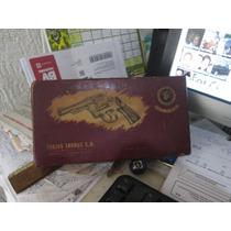 Caixa Antiga Papelão Veludo Taurus 32 Forjas S.a Especial